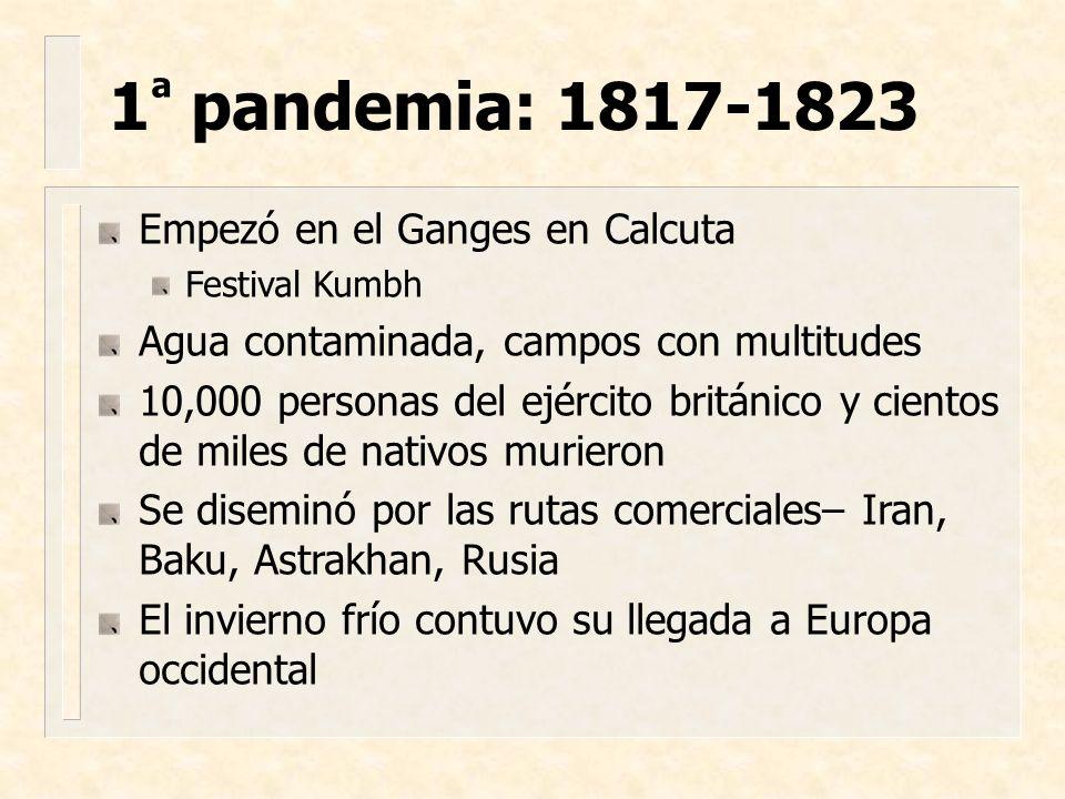 Intento de Inglaterra para controlar la diseminación de la enfermedad infecciosa Trató de impedir el movimiento internacional Eventualmente repelió Acta de cuarentena de 1825