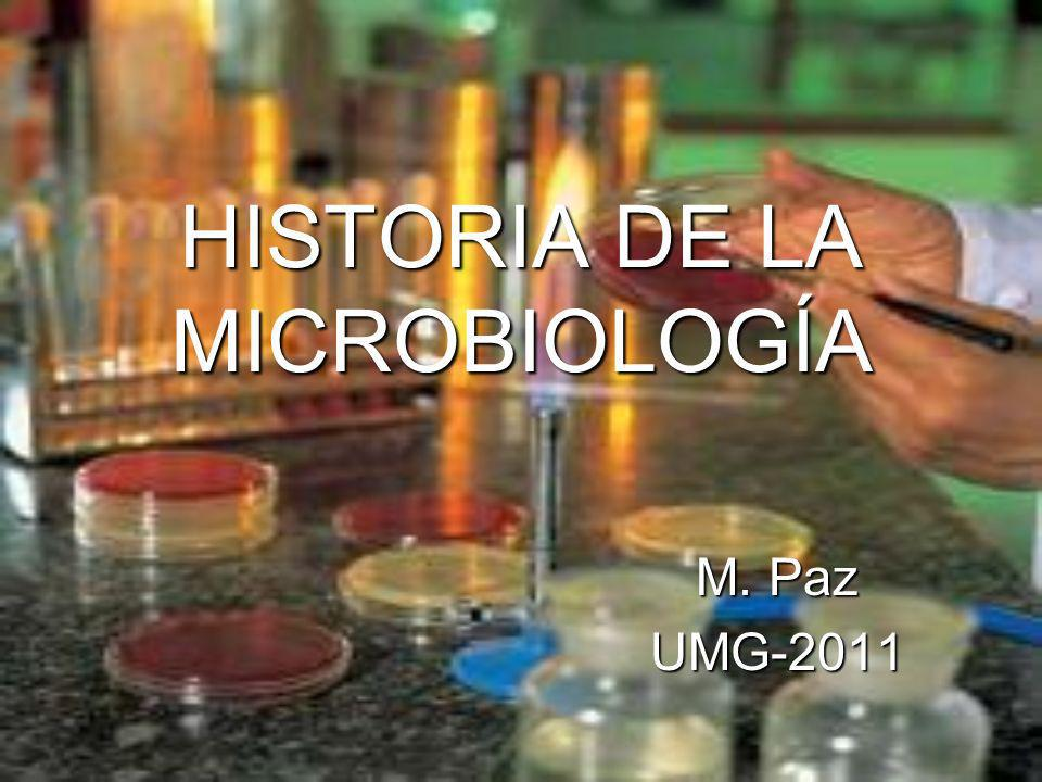 ¿Qué es la microbiología.