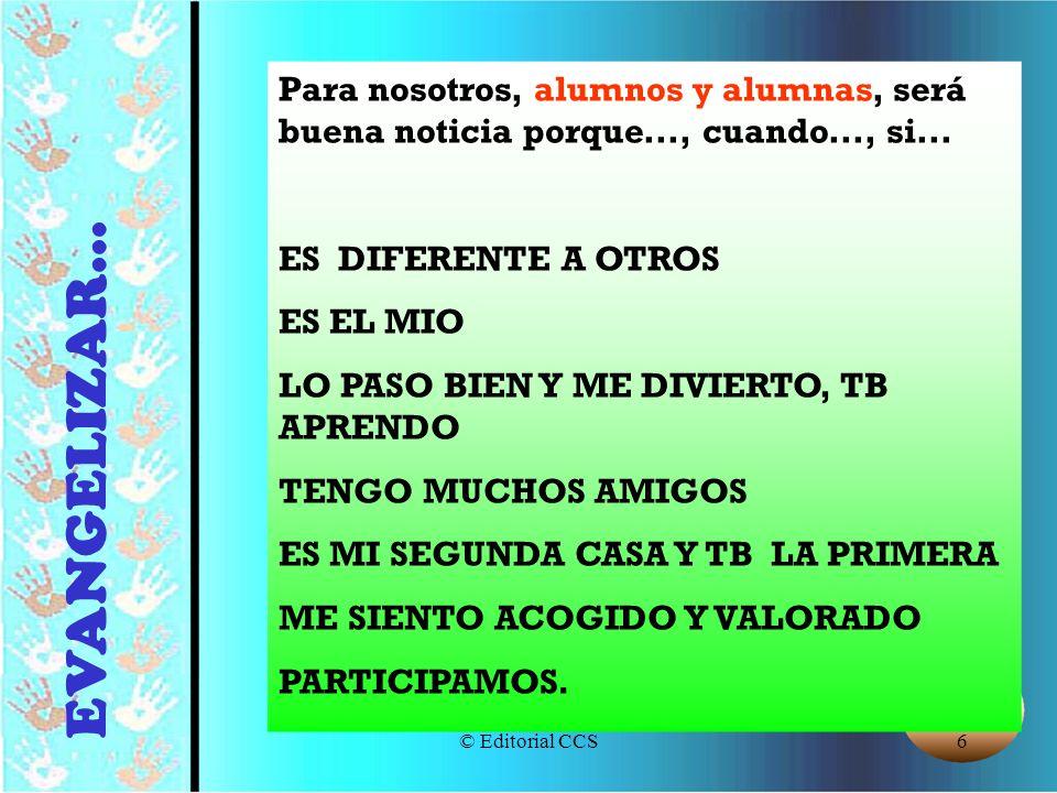 © Editorial CCS87 PERSONALES Profesorado, identificación, creatividad...