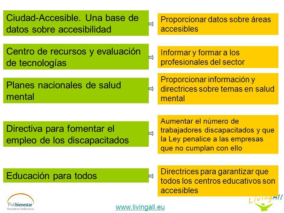 www.livingall.eu Ciudad-Accesible.