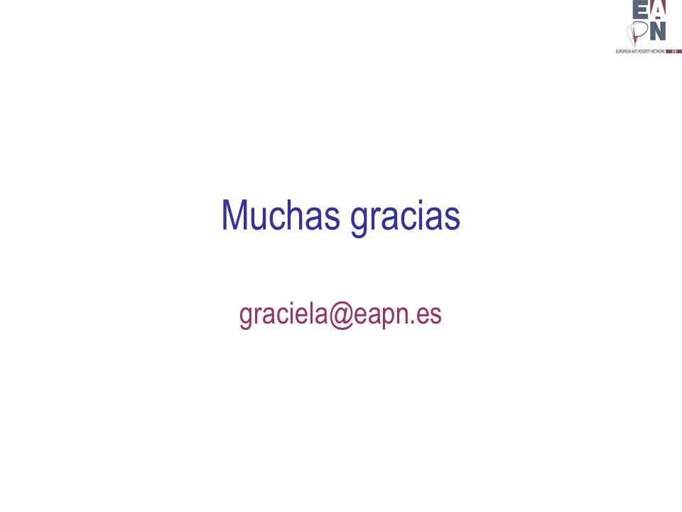 Muchas gracias graciela@eapn.es