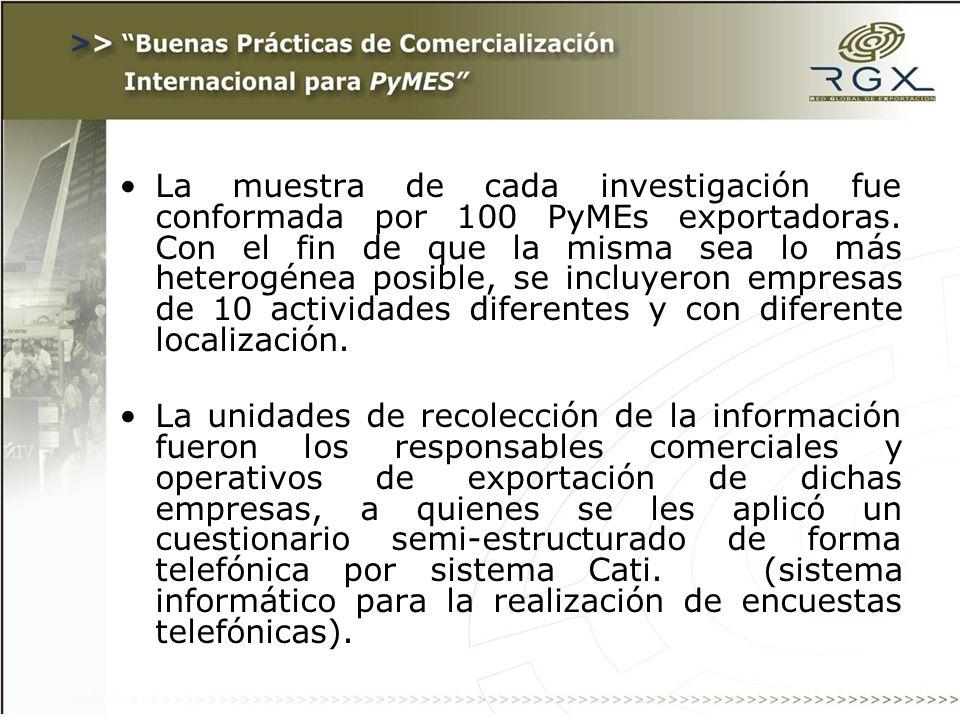 Paso 8 - Definir el Plan de Exportación: Canal de distribución: Exportación: exportación directa o a través de terceros.