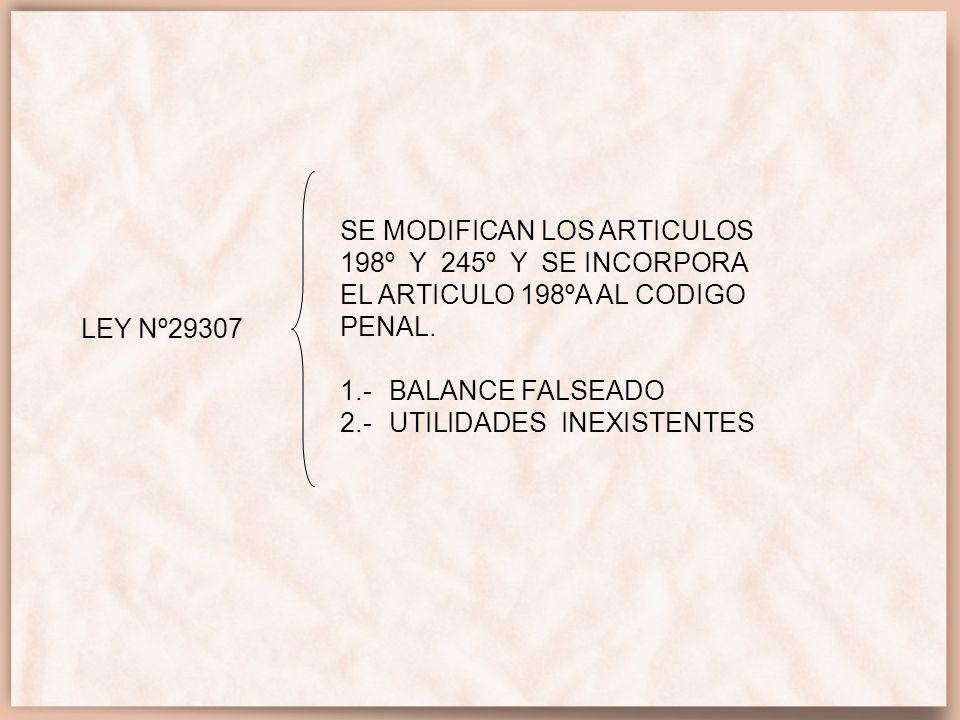 NICS CON INCIDENCIA TRIBUTARIA NIC 1 ART.57° (LIR) PRINCIPIO DEL DEVENGADO ART.
