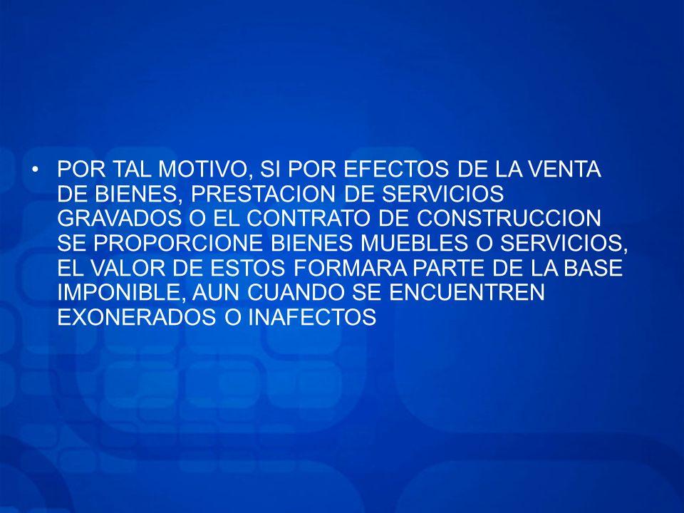 APLICACIÓN DE LA DETRACCIÓN SE ENCONTRARÁ SUJETA A DETRACCIÓN, SEA CUAL FUERE EL IMPORTE DE LA OPERACIÓN, AQUELLA REFERIDA A LOS BIENES COMPRENDIDOS EN LOS NUMERALES 6, 16, 19, 21 DEL ANEXO 2 VIGENCIA LA NORMA BAJO COMENTARIO ENTRA EN VIGOR EL 01.11.2012 RESULTANDO APLICABLE A AQUELLAS OPERACIONES CUYO NACIMIENTO DEL IGV SE PRODUZCA A PARTIR DE DICHA FECHA.