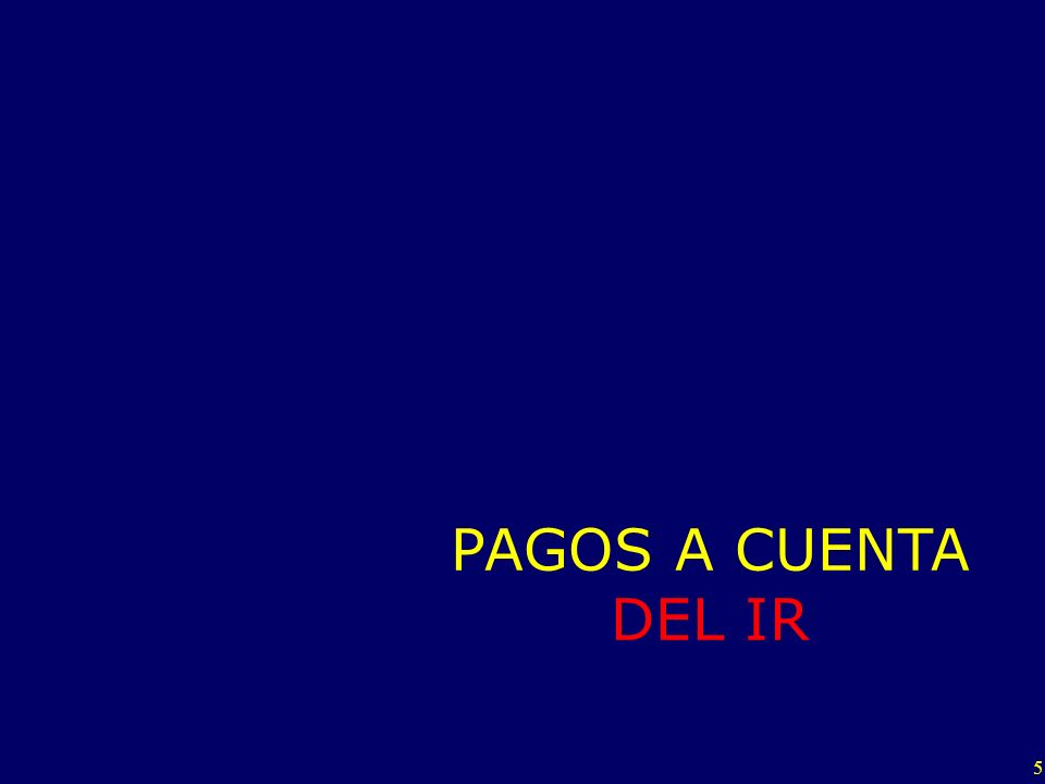 46 IR al 30/04 Ingresos Netos al 30/04 Nuevo Coeficiente al 30/04 (*) = Pero…3 Nuevo coeficiente para el periodo Mayo-Julio Aplicable al 1.50 % Si el Nuevo coeficiente es cero, entonces se suspende los pagos a cuenta NO aplico la Regla de la Cuota Mínima!!.