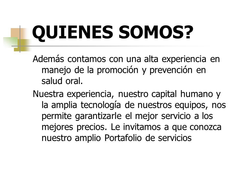 SERVICIOS ESTETICA DENTAL: Parte de la odontología destinada al embellecimiento de los dientes.