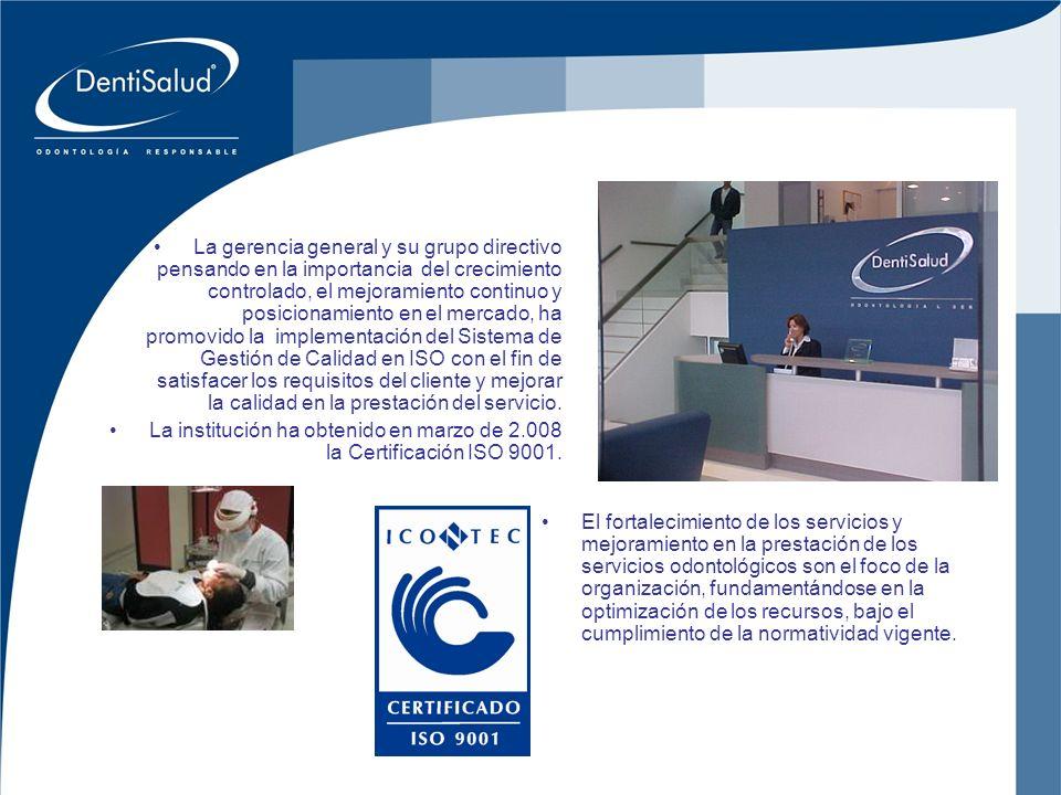 Inversiones Crear Oral Ltda La gerencia general y su grupo directivo pensando en la importancia del crecimiento controlado, el mejoramiento continuo y