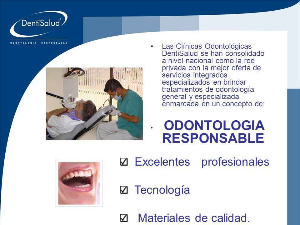 Inversiones Crear Oral Ltda Las Clínicas Odontológicas DentiSalud se han consolidado a nivel nacional como la red privada con la mejor oferta de servi