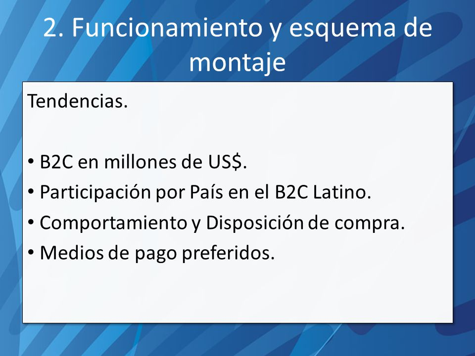 a)Mercado Pago b)Pagos On Line c)Google Checkout d)2 CheckOut e)PayPal f)Dinero Mail g)Ipago h)MegaPay