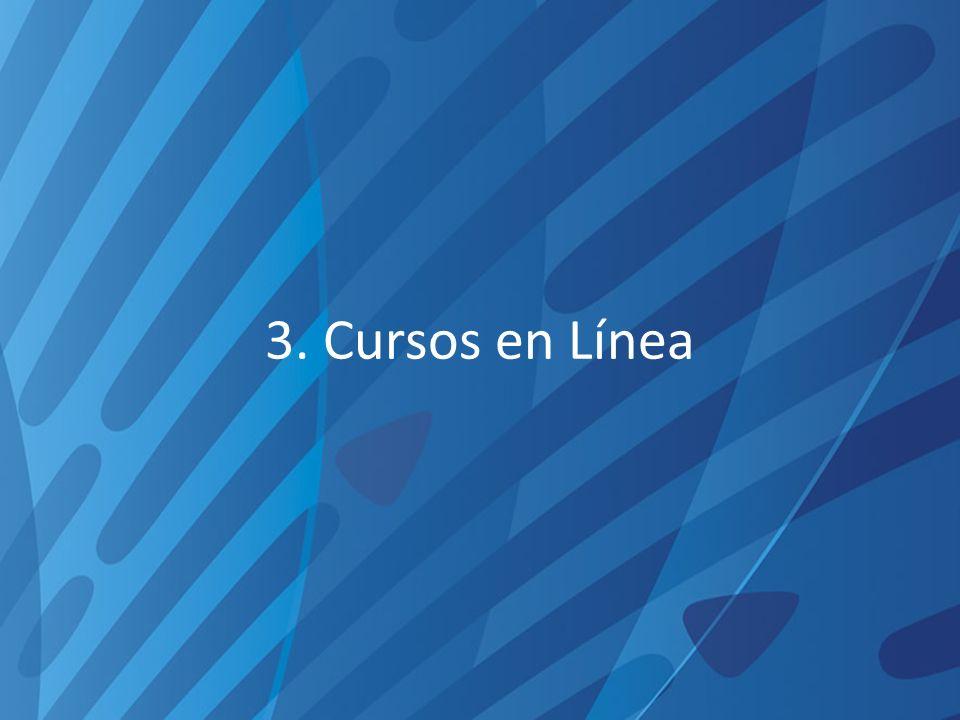 3. Cursos en Línea