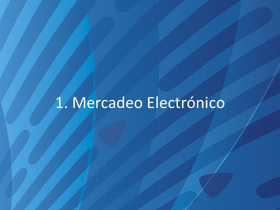 1. Mercadeo Electrónico