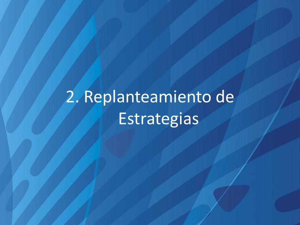 2. Replanteamiento de Estrategias