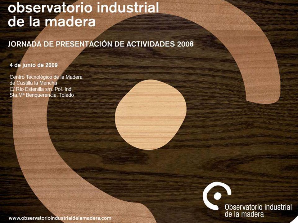El sector de la madera y el mueble cuenta con un gran peso dentro de la industria del país por su número de empresas y por el empleo que genera.
