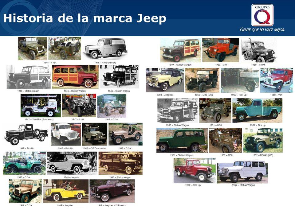 Historia de la marca Jeep