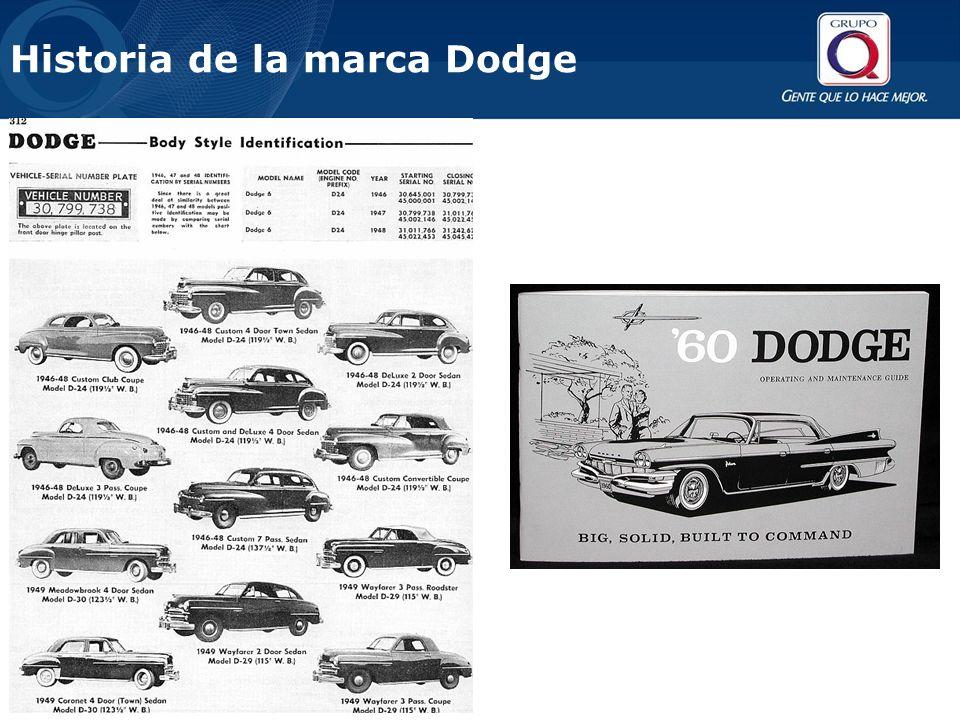 El lanzamiento de estos primeros modelos Dodge estuvo apoyado por una fuerte campaña publicitaria, que marcó época, introduciendo slogans muy recordados para el marketing creativo de esos años: Habla por sí mismo y No solamente te lleva, sino también te trae de vuelta.