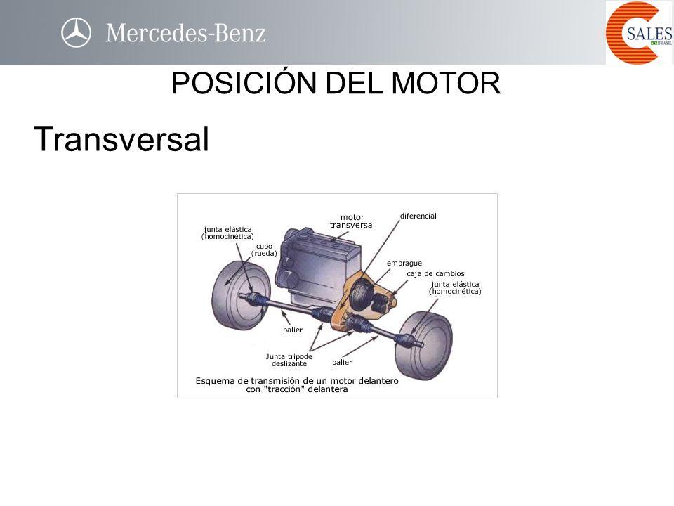 Transversal POSICIÓN DEL MOTOR