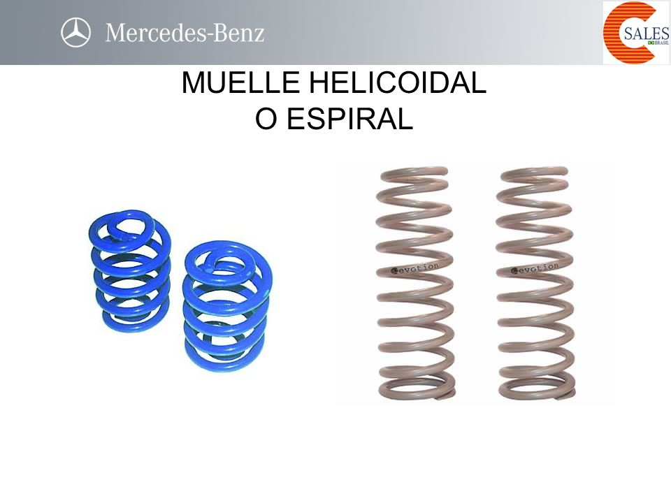 MUELLE HELICOIDAL O ESPIRAL