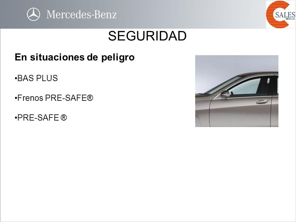 SEGURIDAD En situaciones de peligro BAS PLUS Frenos PRE-SAFE® PRE-SAFE ®