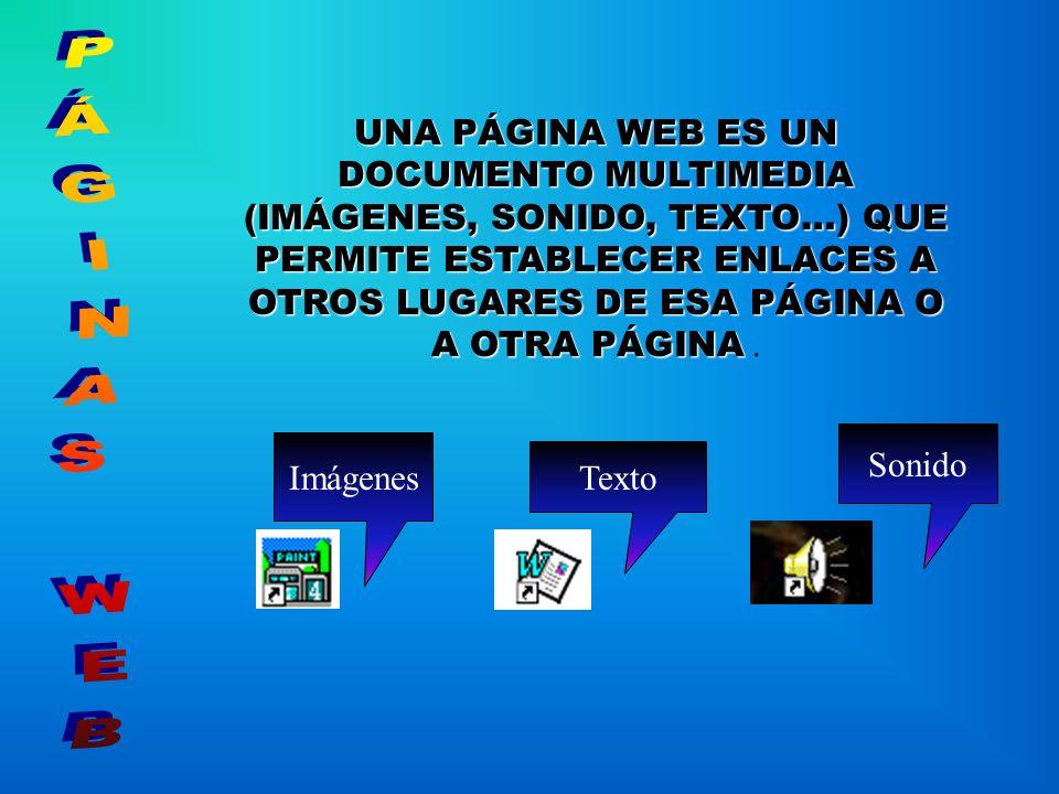 ¿QUÉ ES UNA PÁGINA WEB? MICROSOFT WORD - 97 ASISTENTE USO DE ASISTENTE AYUDANTE DE PÁGINAS WEB MARCADORES HIPERVÍNCULOS HIPERENLACES NUESTRA REVISTA A