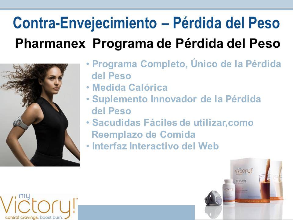 Pharmanex Programa de Pérdida del Peso Programa Completo, Único de la Pérdida del Peso Medida Calórica Suplemento Innovador de la Pérdida del Peso Sac
