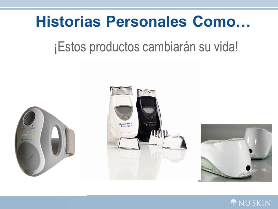 Historias Personales Como… ¡Estos productos cambiarán su vida!