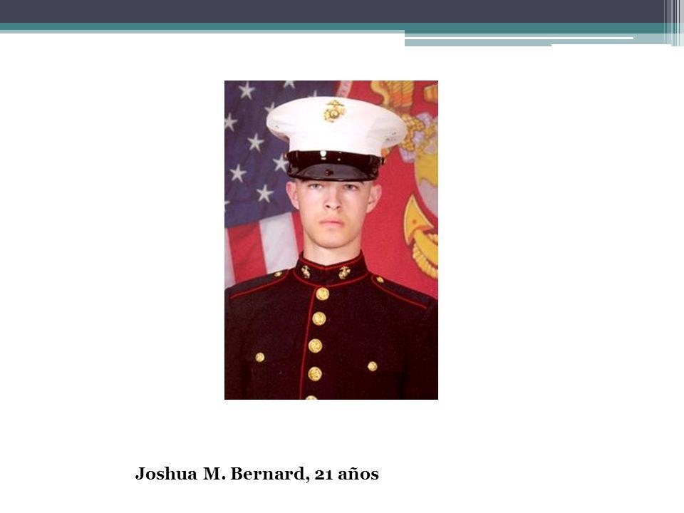 Joshua M. Bernard, 21 años