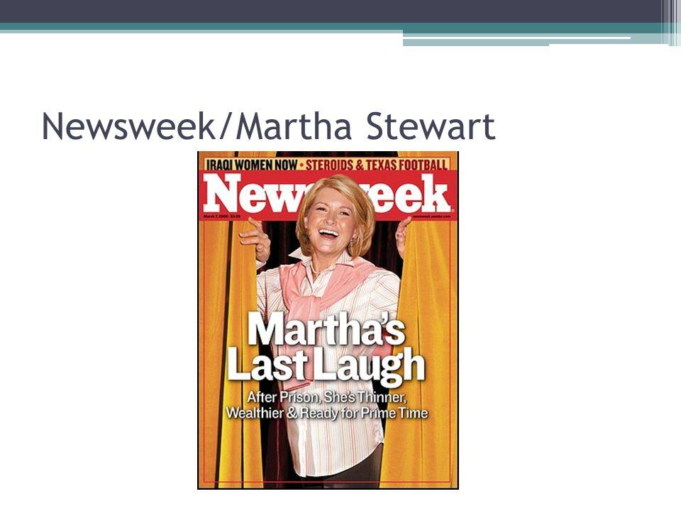 Newsweek/Martha Stewart