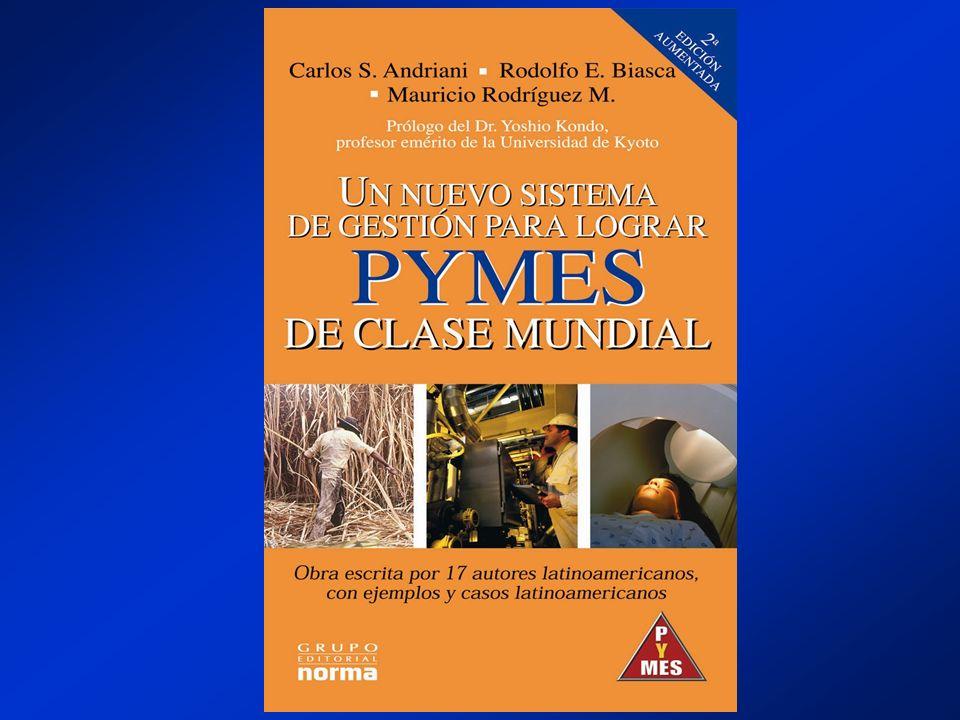 Libro Un Nuevo Sistema de Gestión para Lograr PYMES de Clase Mundial; Segunda Edición, Editorial Norma, Octubre de 2004, www.norma.com.www.norma.com A