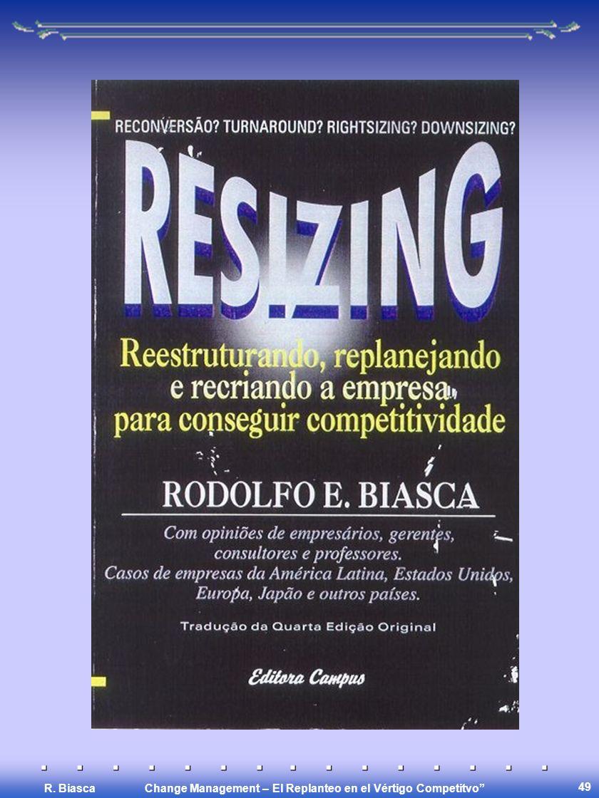 Change Management – El Replanteo en el Vértigo Competitvo R. Biasca 49