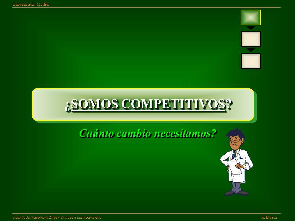 R.BiascaChange Management. Experiencias en Latinoamérica Introducción.