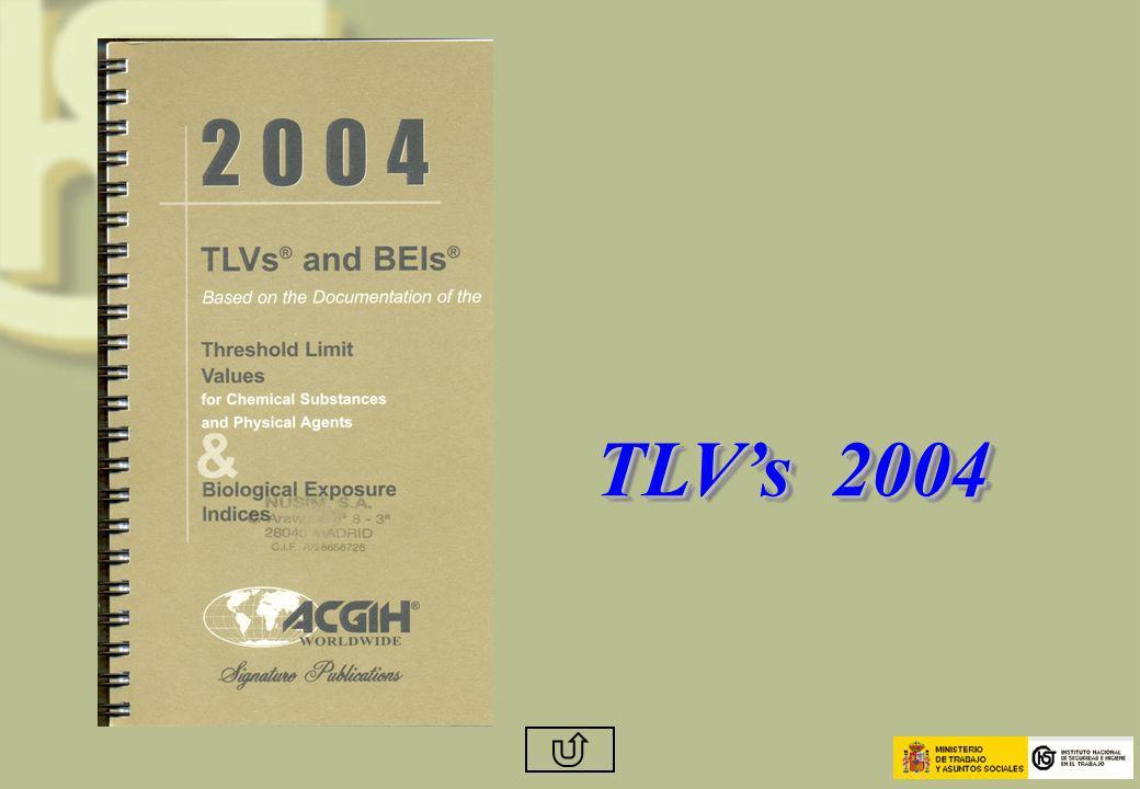 TLVs 2004