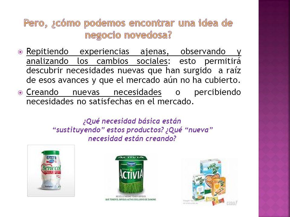 Innovación total o radical: Se crea un producto único.