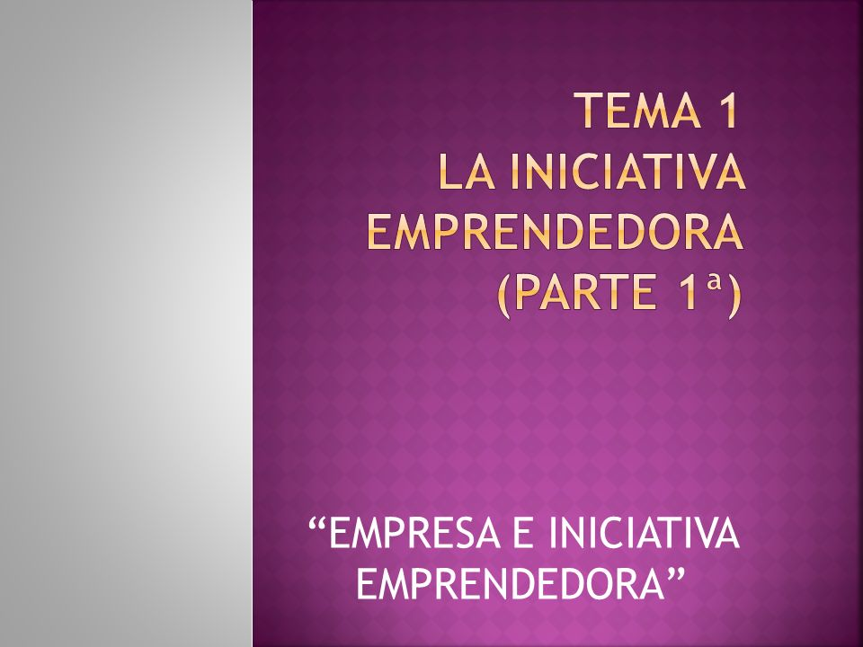 1.Introducción. El trabajo por cuenta propia y la cultura emprendedora.