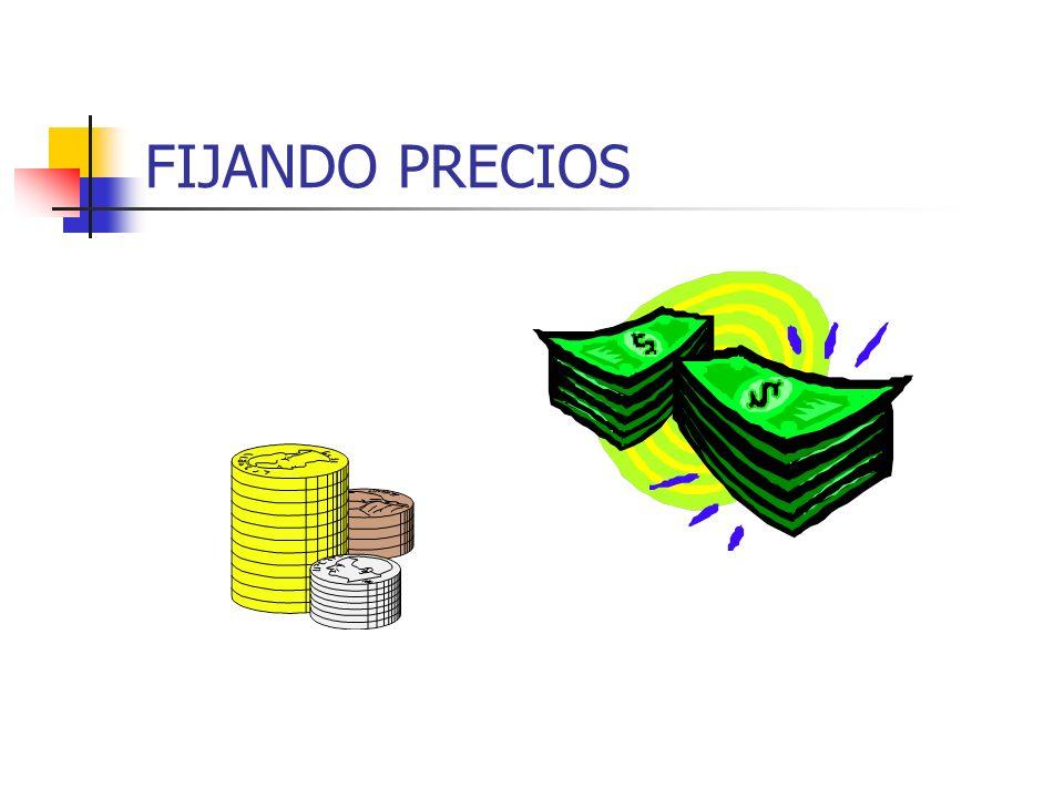 PRECIOS Y EL CICLO DE VIDA DECLINACION Objetivo: minimizar pérdidas Opciones Atricheramiento Consolidación Abandono