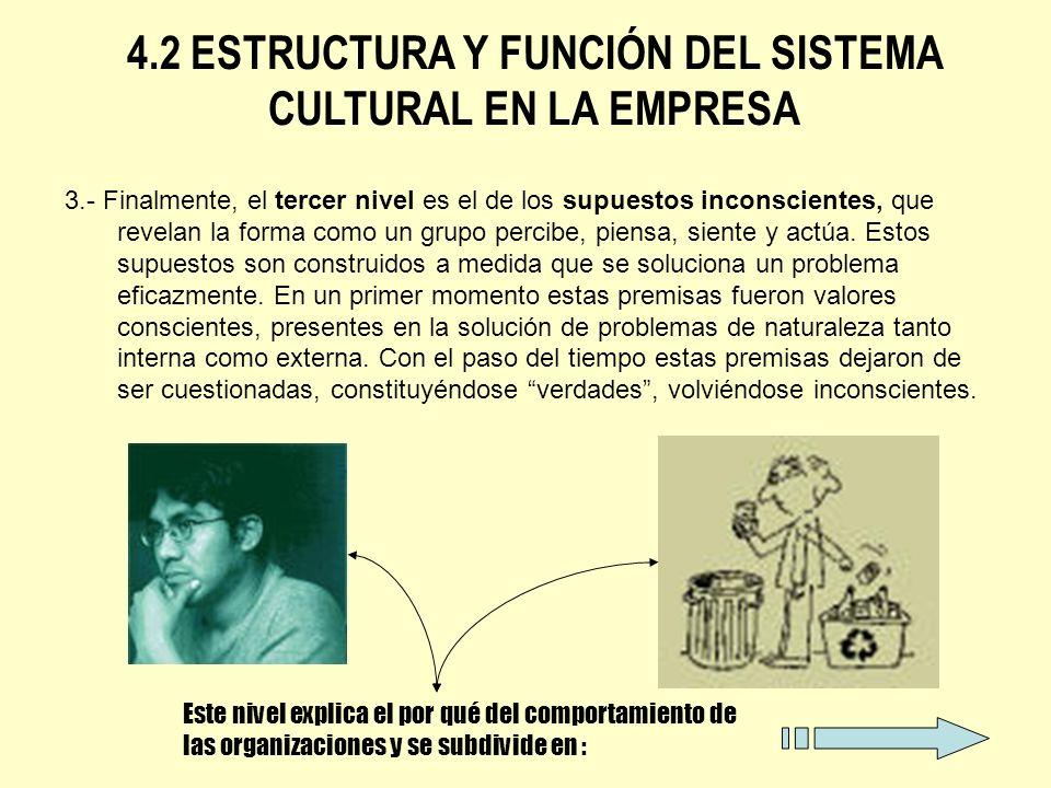 Dimensión 1.Relación de la organización como el ambiente externo : Dominio, sumisión, armonía.