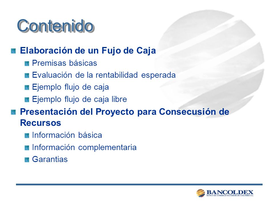 Ejemplo de Flujo de Caja Libre