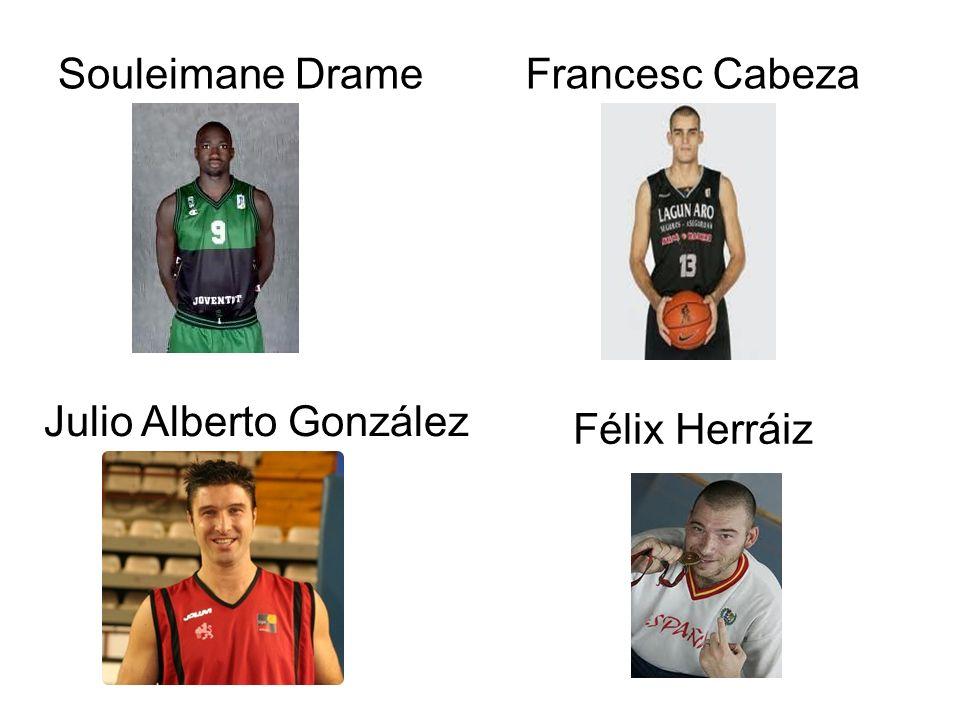 Souleimane DrameFrancesc Cabeza Julio Alberto González Félix Herráiz
