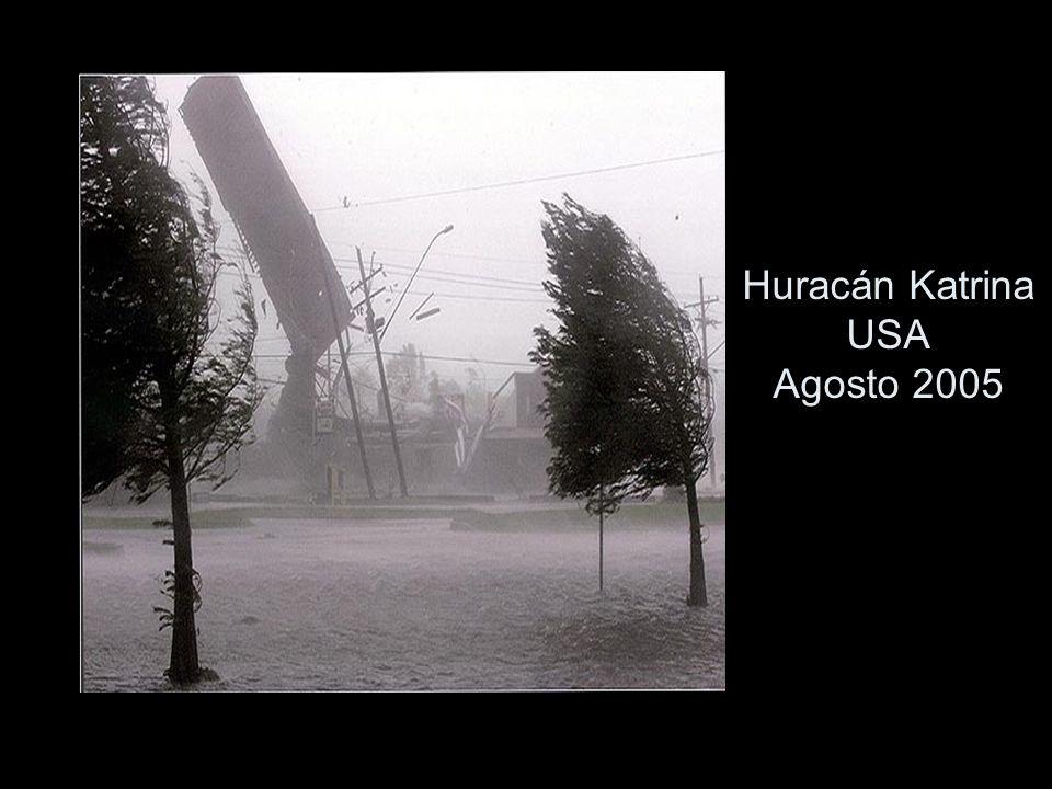 Huracán Katrina USA Agosto 2005