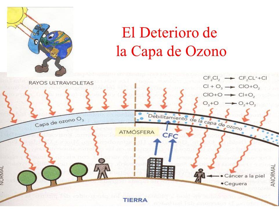 El Deterioro de la Capa de Ozono