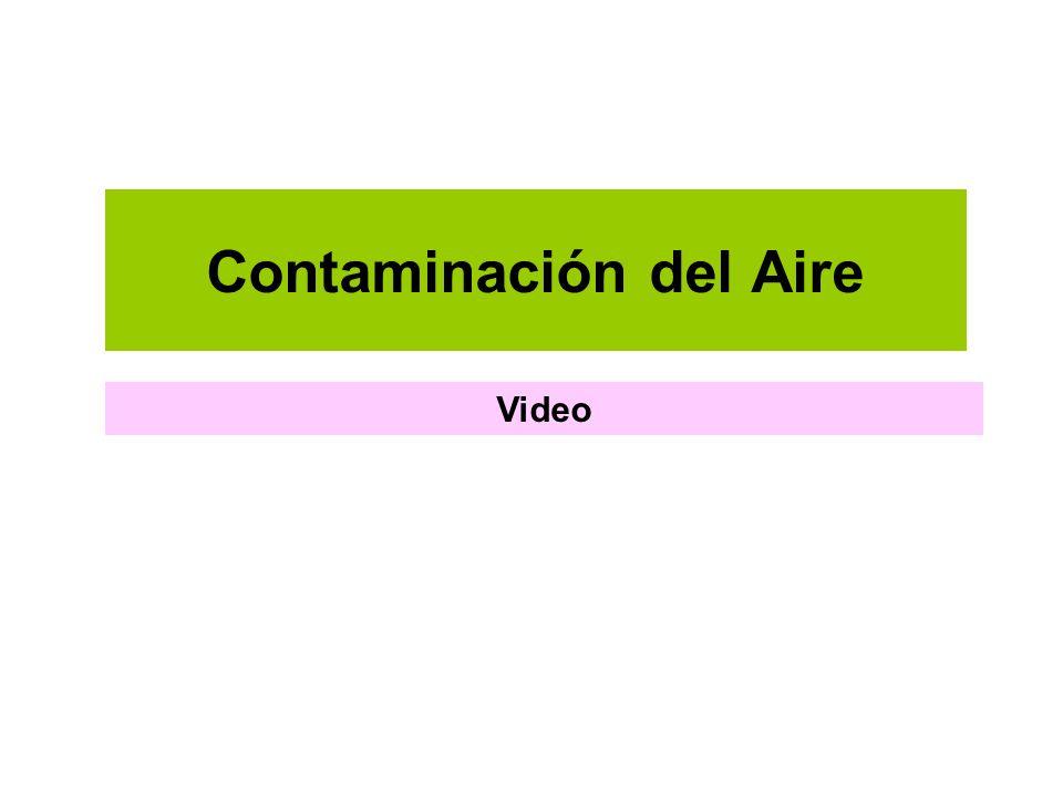 Contaminación del Aire Video