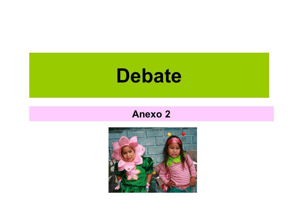 Debate Anexo 2