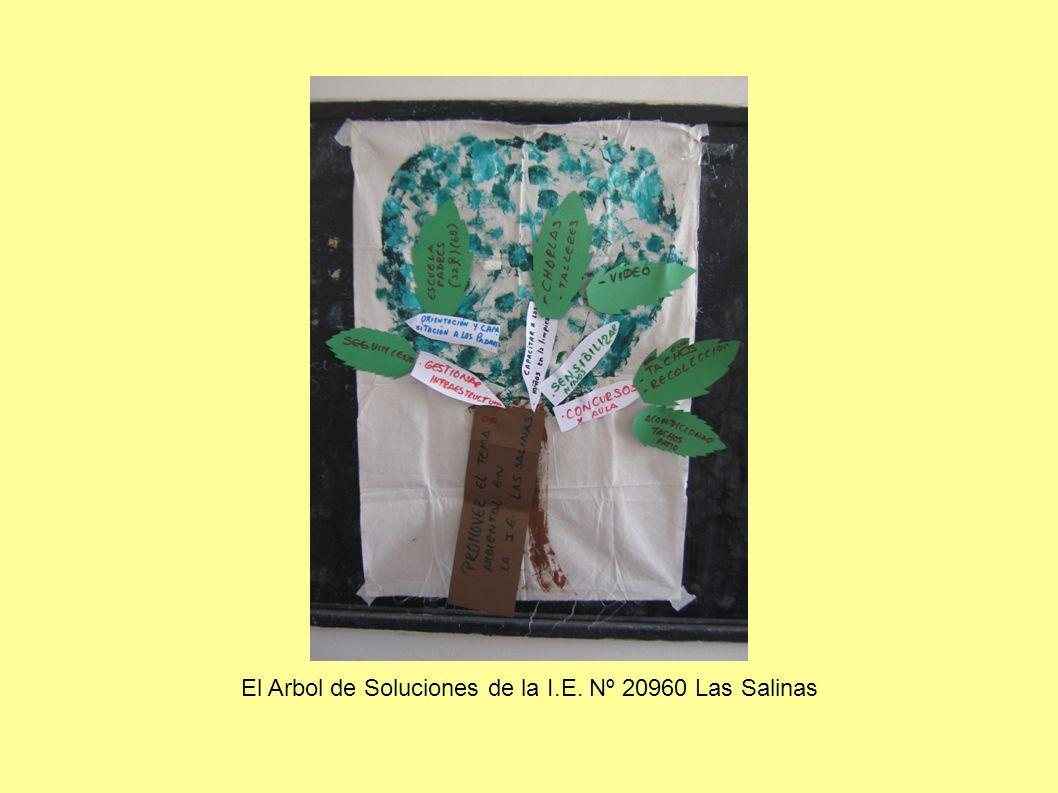 El Arbol de Soluciones de la I.E. Nº 20960 Las Salinas