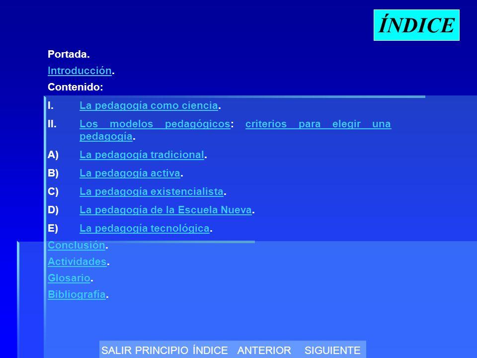 ÍNDICE Portada.IntroducciónIntroducción.