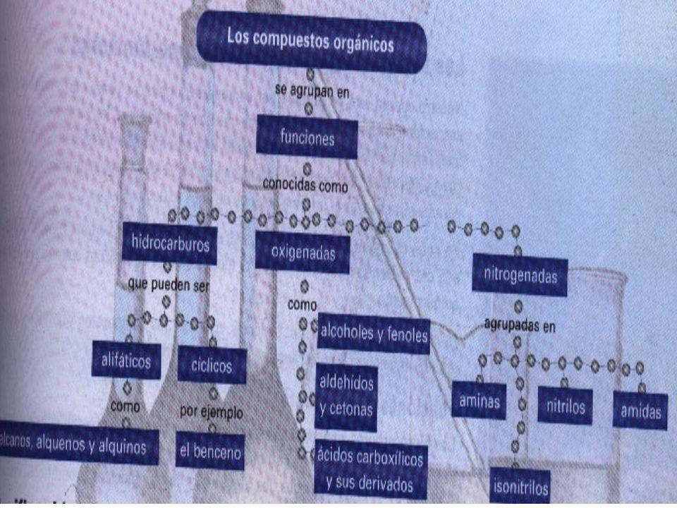 La clasificación de los compuestos orgánicos Se dividen en dos grandes grupos: Los compuestos acìclicos.
