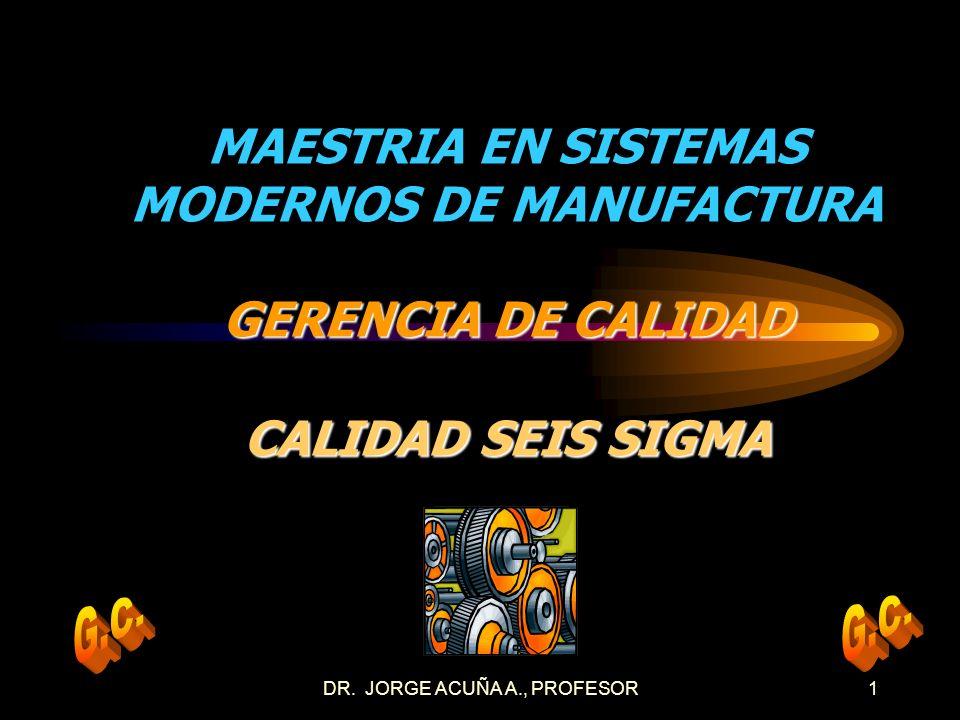 DR. JORGE ACUÑA A., PROFESOR11 MODELO DMAMC