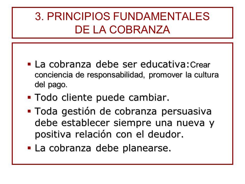 2.CLASES DE COBRANZA Judicial. Busca únicamente el pago de la deuda mediante la acción coactiva de la justicia. El proceso está reglamentado en el Cód