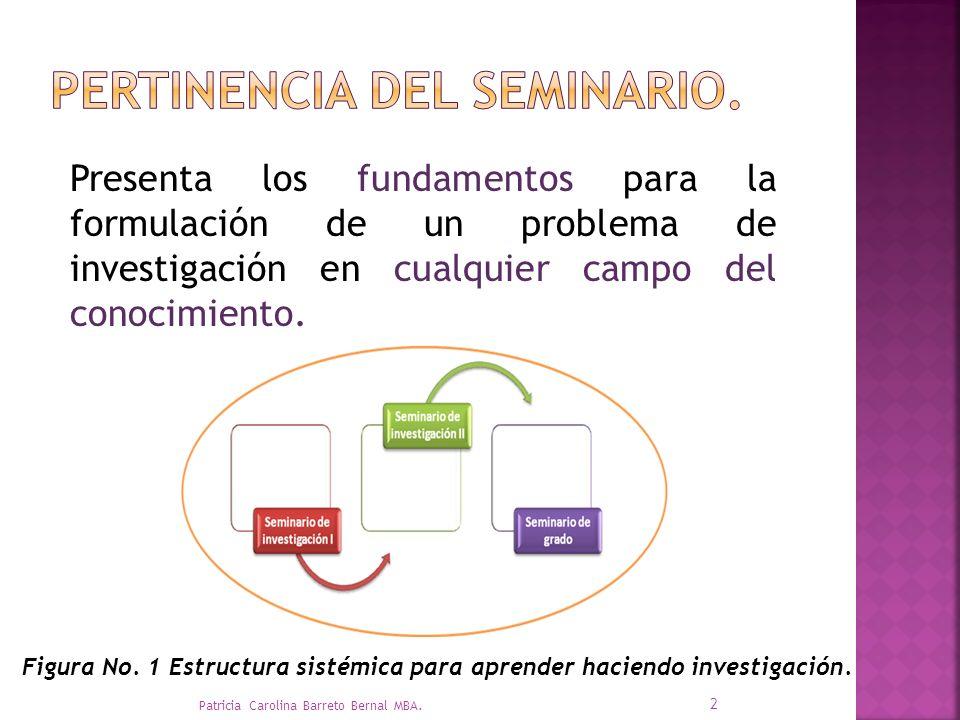 Presenta los fundamentos para la formulación de un problema de investigación en cualquier campo del conocimiento.