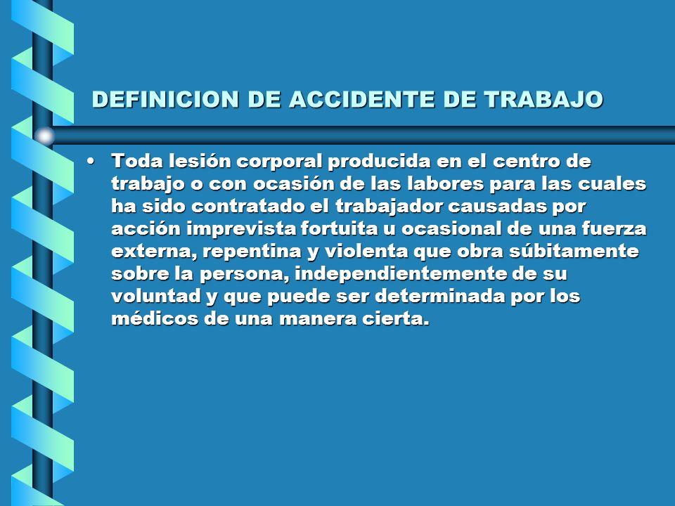 PRINCIPALES TEORIAS PARA SUSTENTAR LA RESPONSABILIDAD DEL EMPLEADOR EN LOS ACCIDENTES DE TRABAJO Y ENFERMEDADES PROFESIONALES DE LA CULPA.DE LA CULPA.