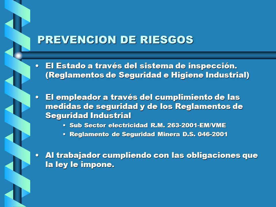 COBERTURA QUE BRINDA SEGURO DE RIESGO Cobertura de salud ( ESSALUD O EPS )Cobertura de salud ( ESSALUD O EPS ) Prestaciones asistenciaPrestaciones asi