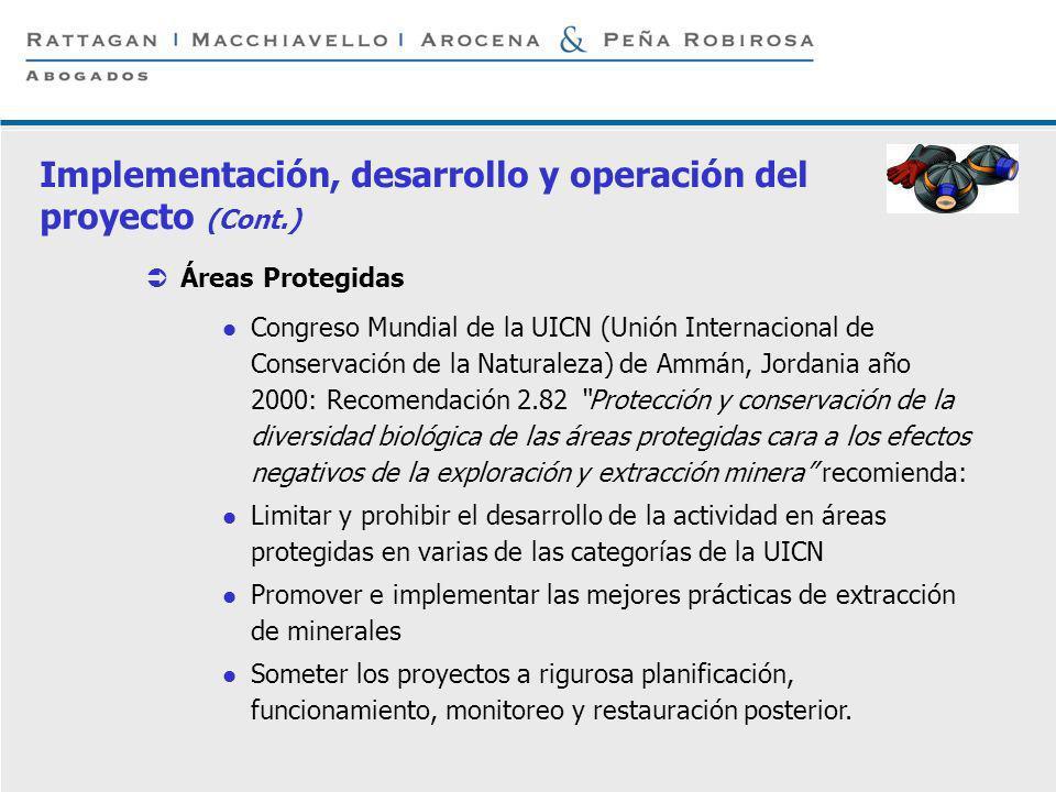 P 10 © Rattagan Macchiavello Arocena & Peña Robirosa, 2005 Áreas Protegidas Congreso Mundial de la UICN (Unión Internacional de Conservación de la Nat